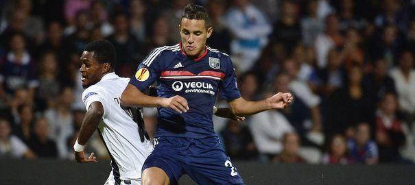Les joueurs de Guimaraes, guidé par un bon Moussa Maazou, aurait pu obtenir plus qu'un point à Gerland.