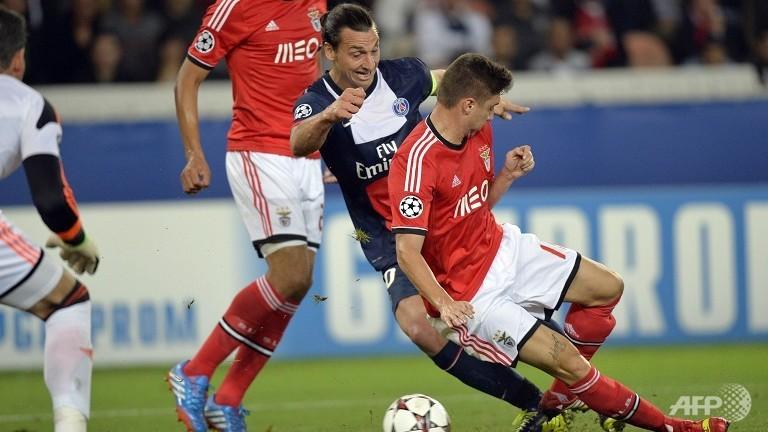 Ibrahimovic, auteur d'un doublé, a fait pencher cette rencontre franco-portugaise en faveur du PSG.