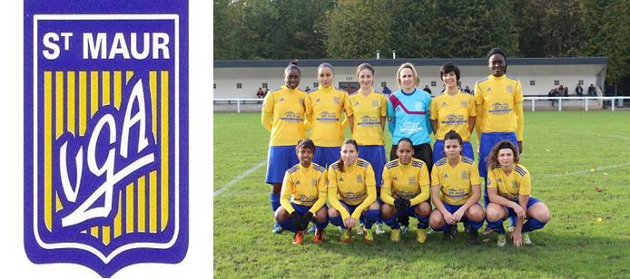 L'équipe féminine de la VGA Saint-Maur pour la saison 2013-2014.