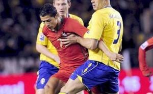 Portugal-Suède: Match sous haute tension