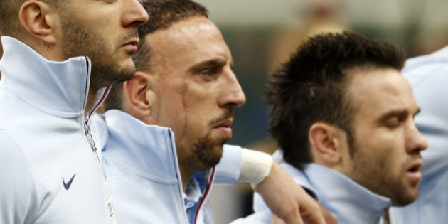 Les sales coups de Ribéry à Valbuena