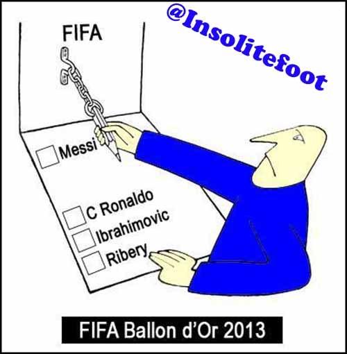 Blatter se moque de Ronaldo et préfère Messi !!!