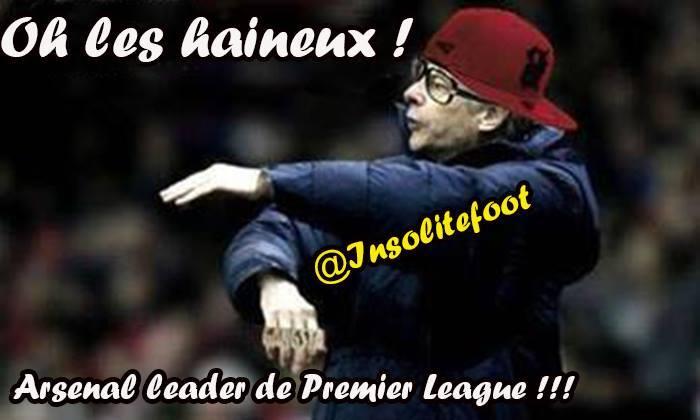 Arsenal Solide leader de Premier League !!!