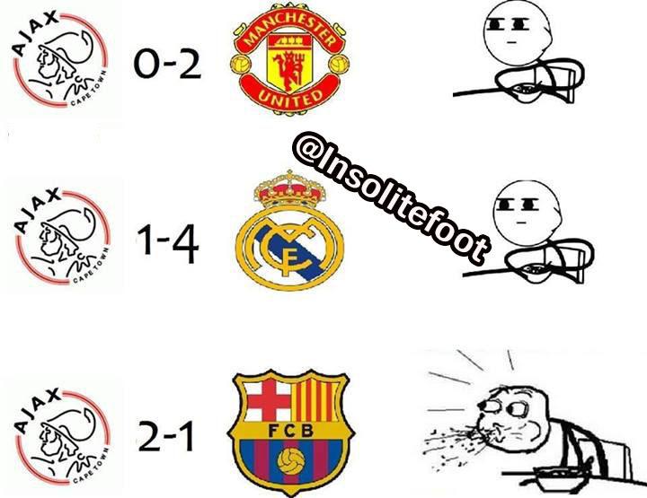 LDC : l'Ajax fait tomber le Barça !!!