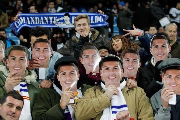 Santiago Bernabeu soutient Cristiano Ronaldo