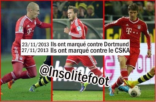 Le Bayern brille grâce ce trio !!!
