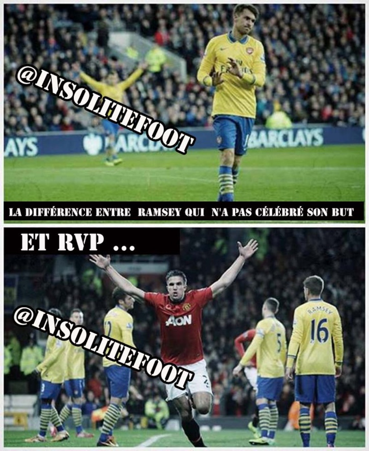 Un doublé pour Ramsey, mais pas de célébration !!!