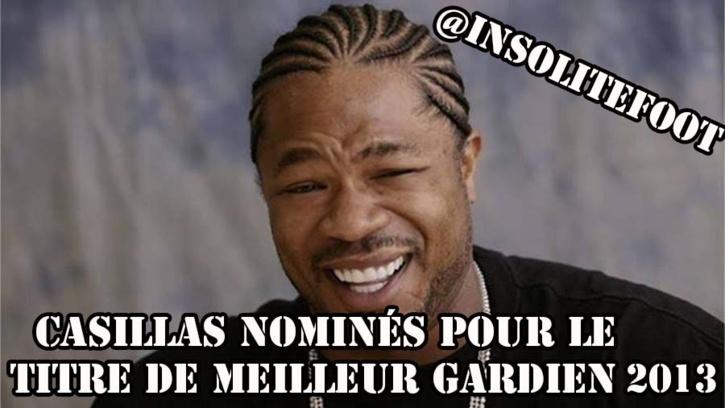 FIFA, élection du meilleur gardien 2013 Casillas nominé, Weidenfeller oublié !!!