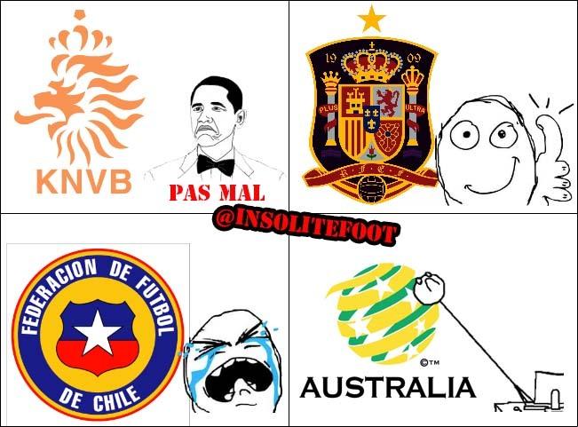 Mondial-2014: Espagne et Pays-Bas, comme on se retrouve!