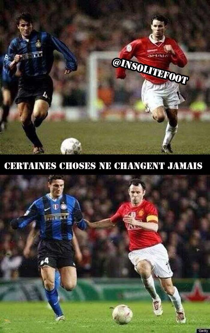 Giggs et Zanetti, certaines choses ne changent jamais!