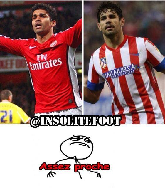 Assez Proche : Eduardo et Diego Costa!