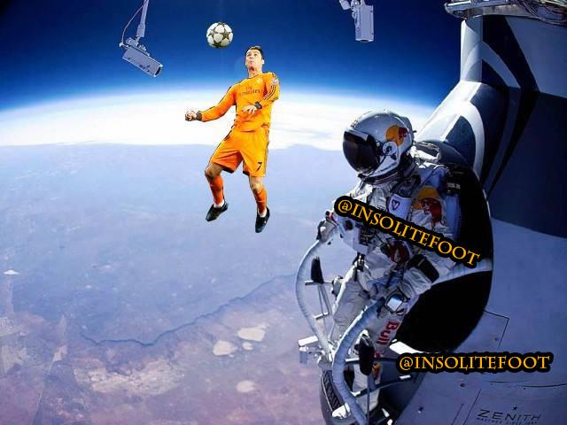 Cristiano Ronaldo, l'extraterrestre!