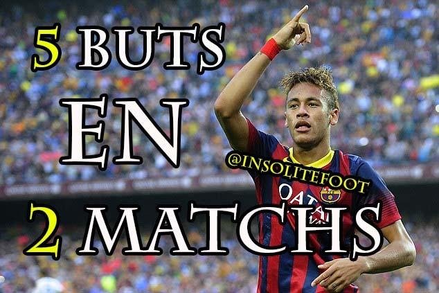 Barça : Neymar fait oublier Messi!