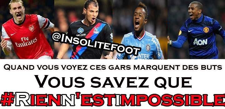 Au football, Rien N'est Impossible!!!!