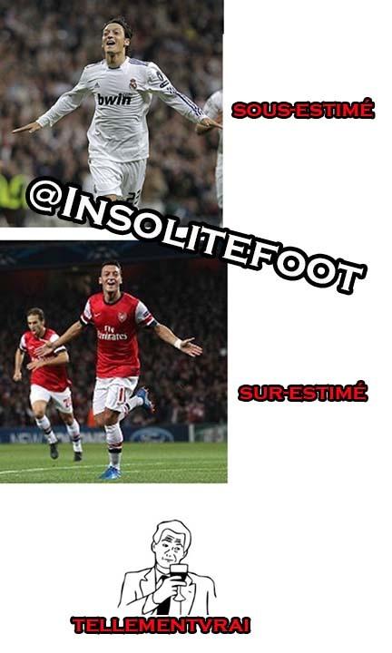 Arsenal : Mesut Özil sur-estimé?