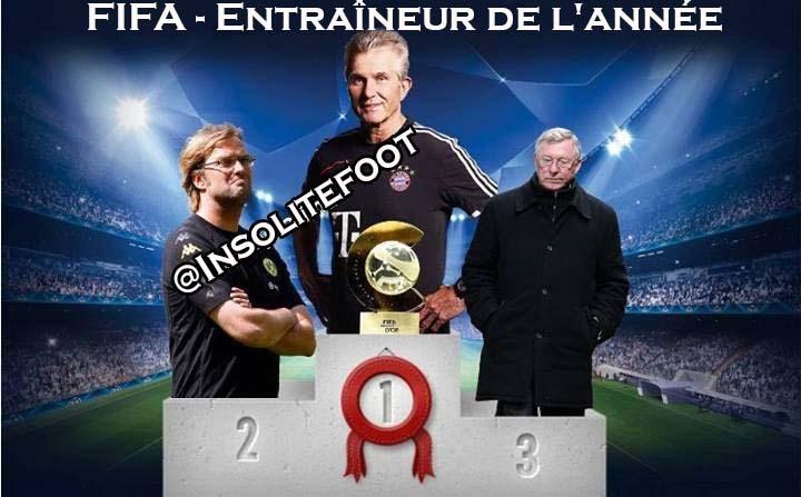 Selon vous, qui mérite le Prix d'entraîneur de l'année FIFA ?