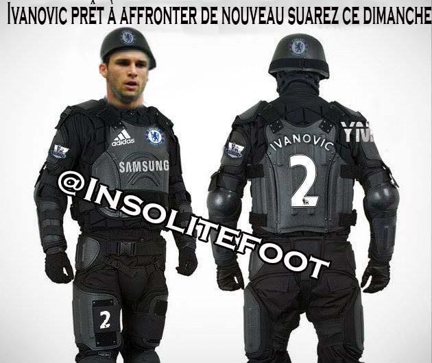 C'est bon, Ivanovic est prêt pour défendre sur Suarez dimanche!