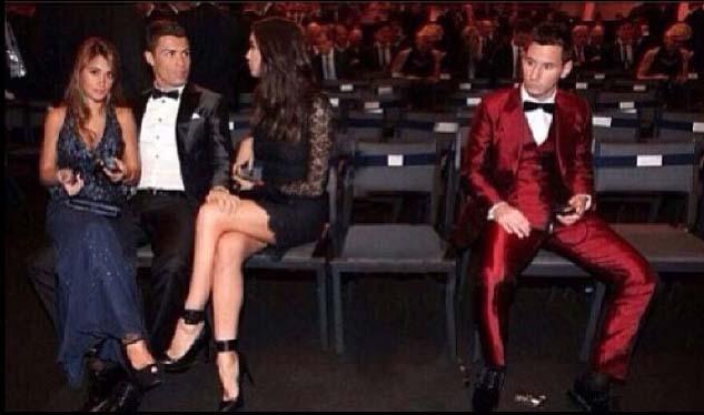 Cristiano Ronaldo a volé la femme de Messi !
