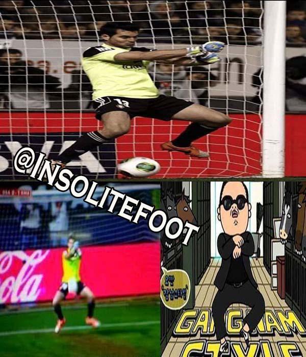 L'incroyable boulette du gardien d'Osasuna sur un coup franc de Ronaldo!