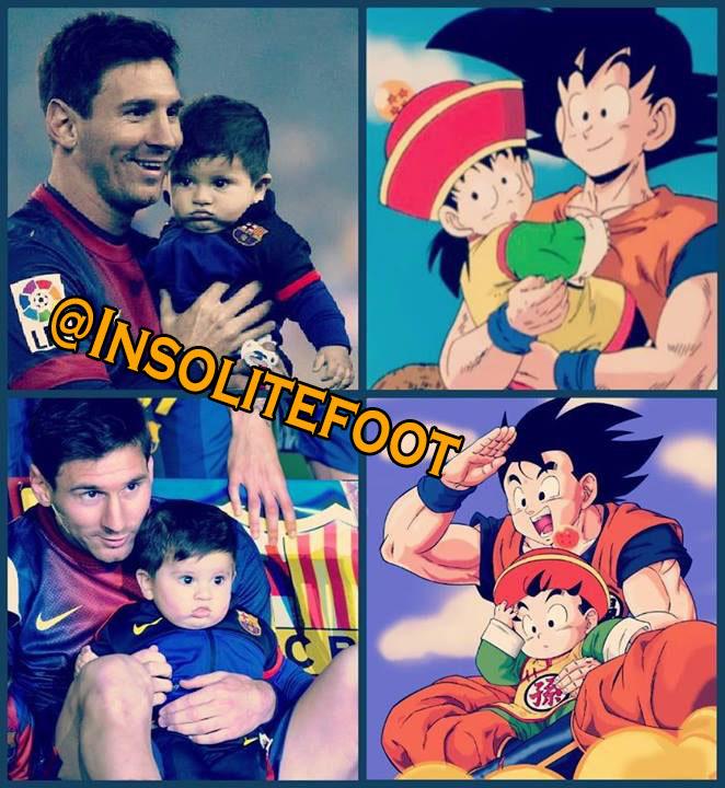 Assez Proche : Messi Gokû!!!