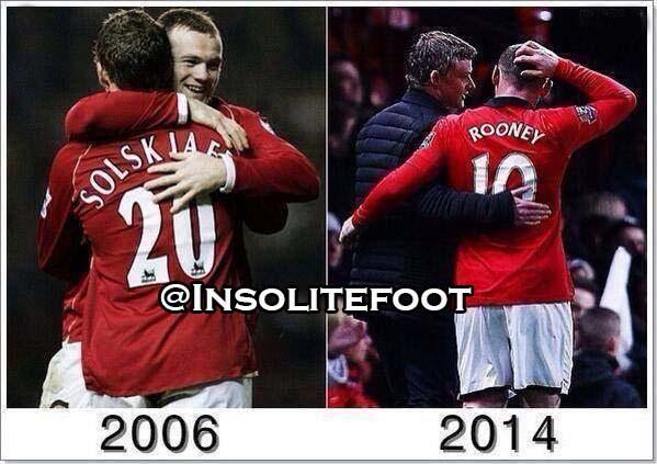 Manchester United: Avec Rooney certaines choses ne changent jamais !!!!