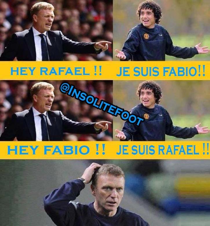 Voilà la raison pour laquelle David Moyes a prêté Fabio à Cardiff !!!