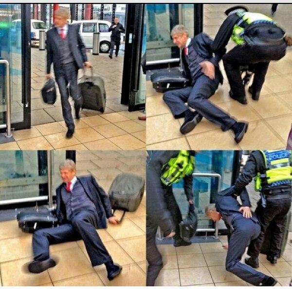 La grosse chute d'Arsène Wenger après la défaite 5-1 à Liverpool