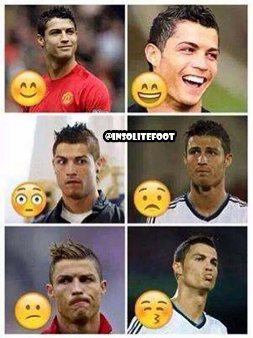 Cristiano Ronaldo en mode Smiley!!!
