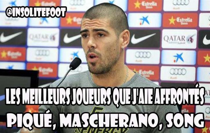 Le trio qui fait peur à Valdés !