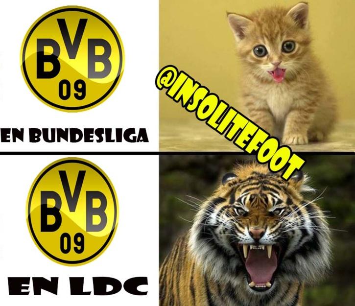 Ligue des champions : Un Borussia aux deux visages