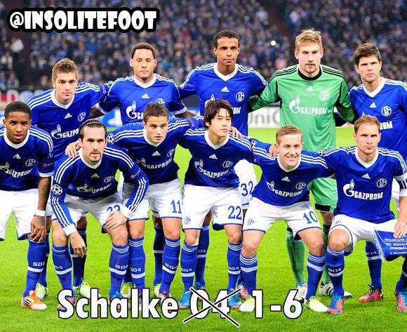 Ligue des champions : Le Real Madrid écrase le FC Schalke 6-1