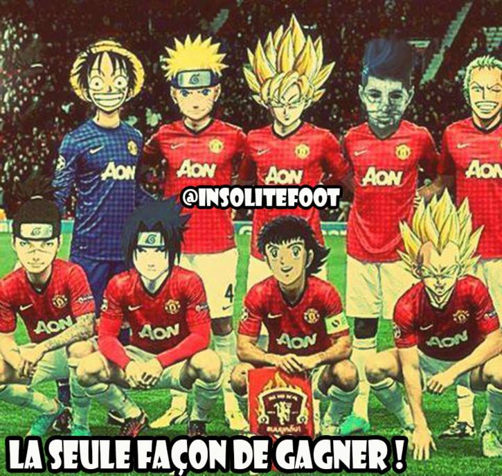 Manchester United : La seule façon de gagner...!