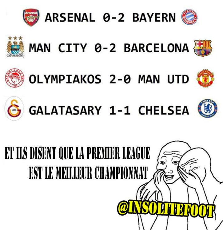 Et ils disent que la Premier League est le meilleur championnat...