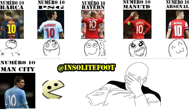 Le football dépend des numéros 10