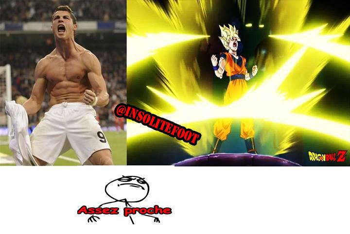 Assez Proche : Cristiano Ronaldo !