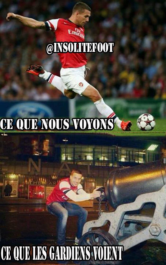 Arsenal : Podolski, un vrai Gunner !