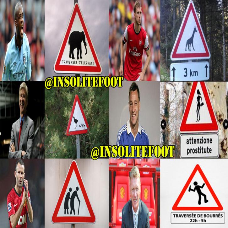 Les stars du foot en mode code de la route !