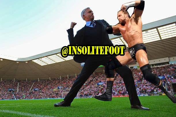 Newcastle : Alan Pardew, la nouvelle recrue de la WWE!