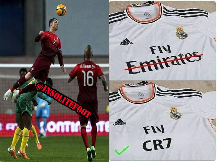 Le Real Madrid change de Sponsor !