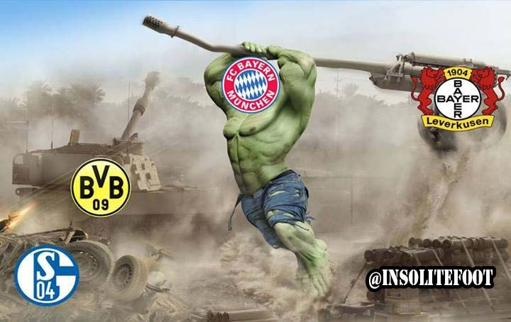 Bundesliga : Le Bayern est trop fort