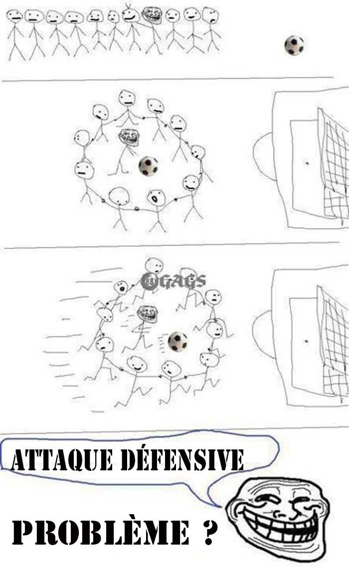 Une attaque défensive !!!