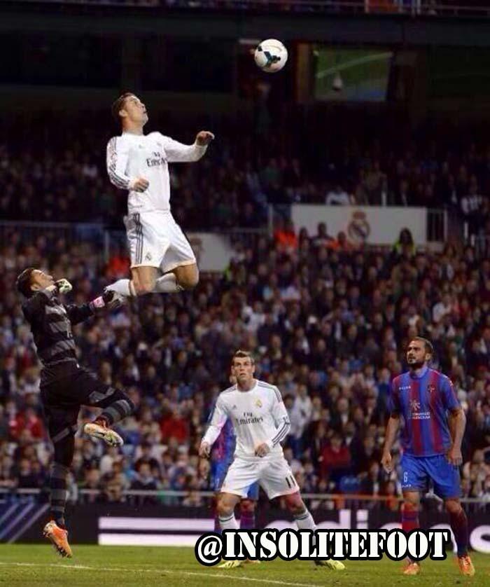 L'incroyable détente de Cristiano Ronaldo