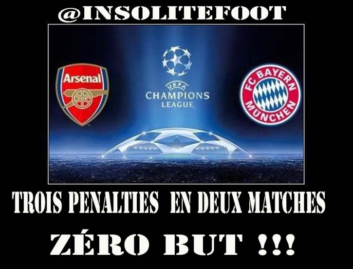 Ligue des champions : Bayern - Arsenal - Le 8ème de finale des Penalties ratés !