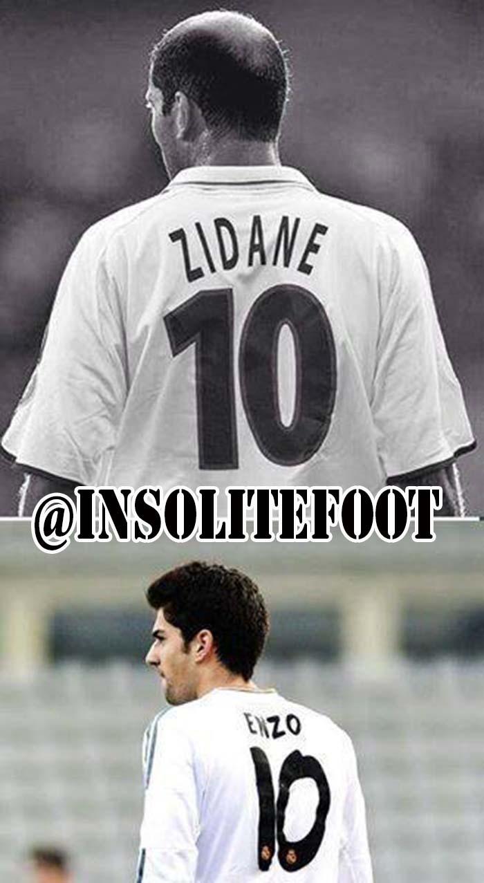 Enzo Zidane: tel père, tel fils