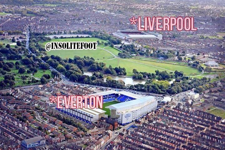 Everton vs Liverpool : La rivalité entre les deux « clubs voisins »