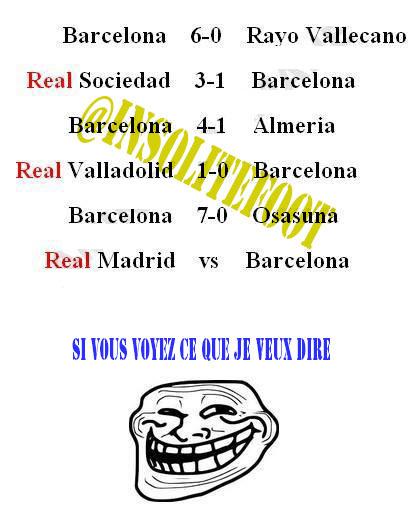 Le clasico Real-Barça est déjà lancé!