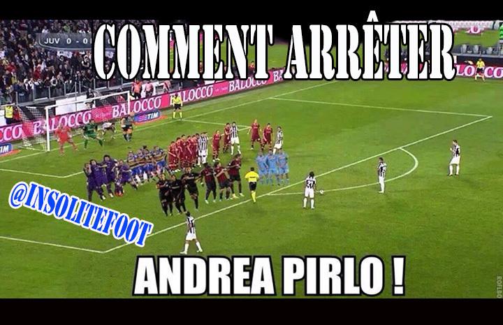 Voilà comment arrêter Andrea Pirlo