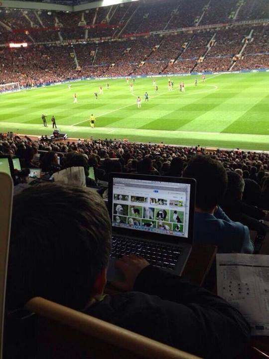 ManUtd-Bayern : En fait, il était trop concentré...