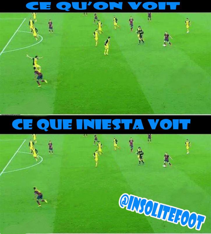 La Vision d'Iniesta !
