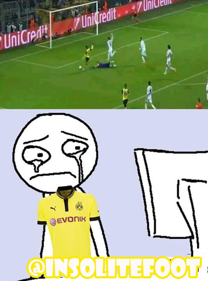 BVB-Real Madrid : Le raté de Henrikh Mkhitaryan